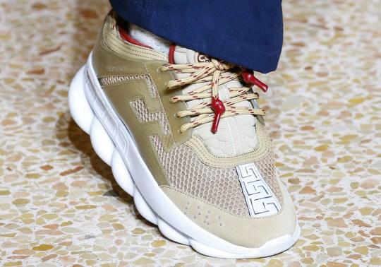 """The 2Chainz x Versace """"Chain Reaction"""" Shoe Debuts In Milan"""
