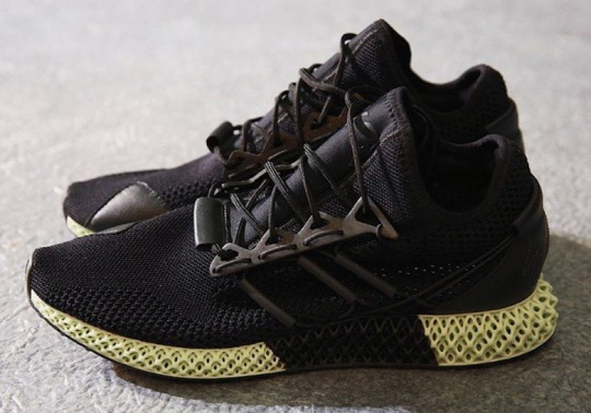 New Colorway Of The adidas Y-3 Futurecraft 4D Debuts At Paris Fashion Week
