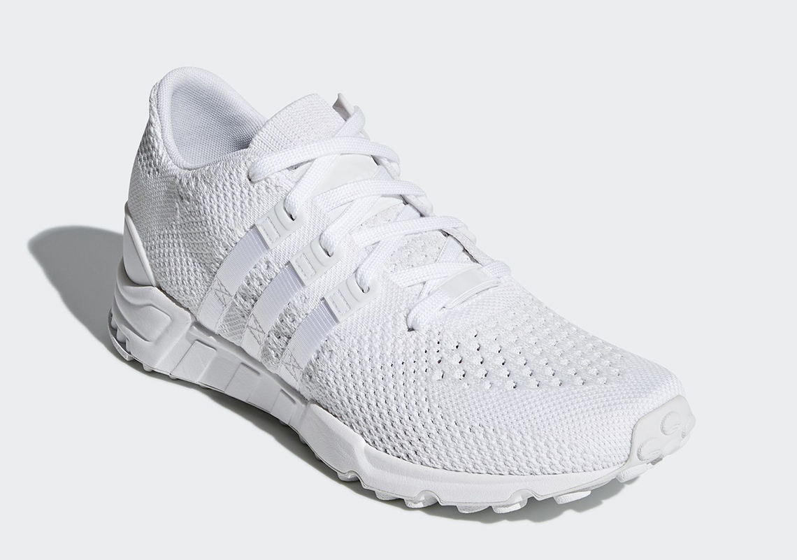 huge selection of f89bc 7909f adidas Dressed The EQT Support RF Primeknit in Triple White