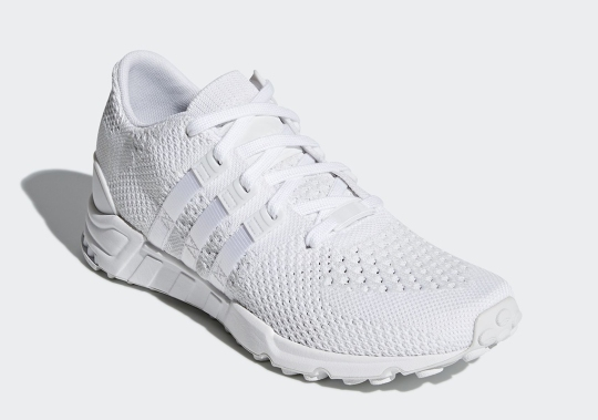adidas Dressed The EQT Support RF Primeknit in Triple White