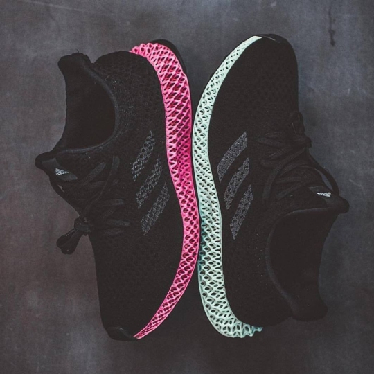adidas Is Releasing Futurecraft 4D Soles In Pink