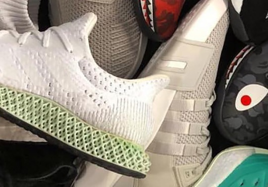 adidas Futurecraft 4D In White Releasing At 747 Warehouse