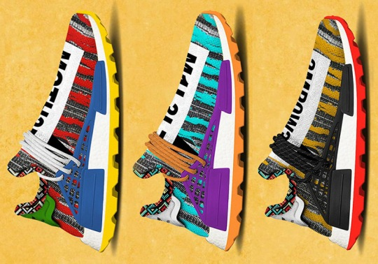 Pharrell And adidas Releasing A Colorful Afro Hu NMD In Fall 2018