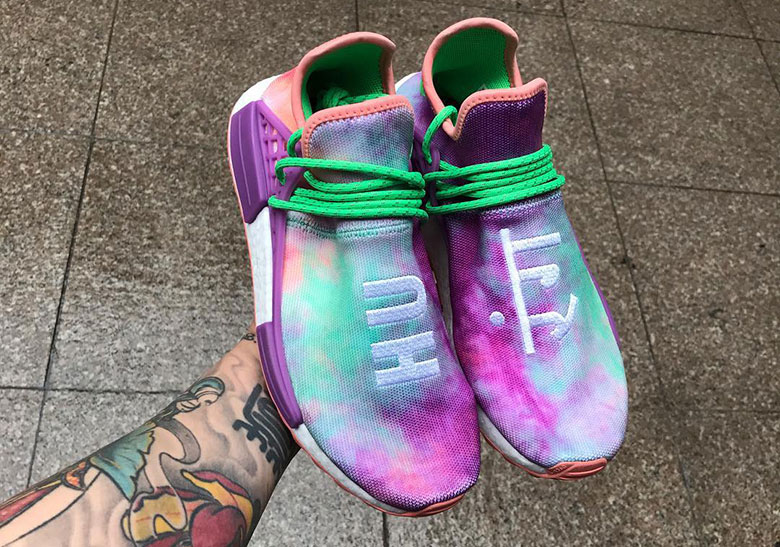 1d4afb81718a7c This Colorful Pharrell x adidas NMD Hu Trail Is Set To Release During The  Holi Festival In March