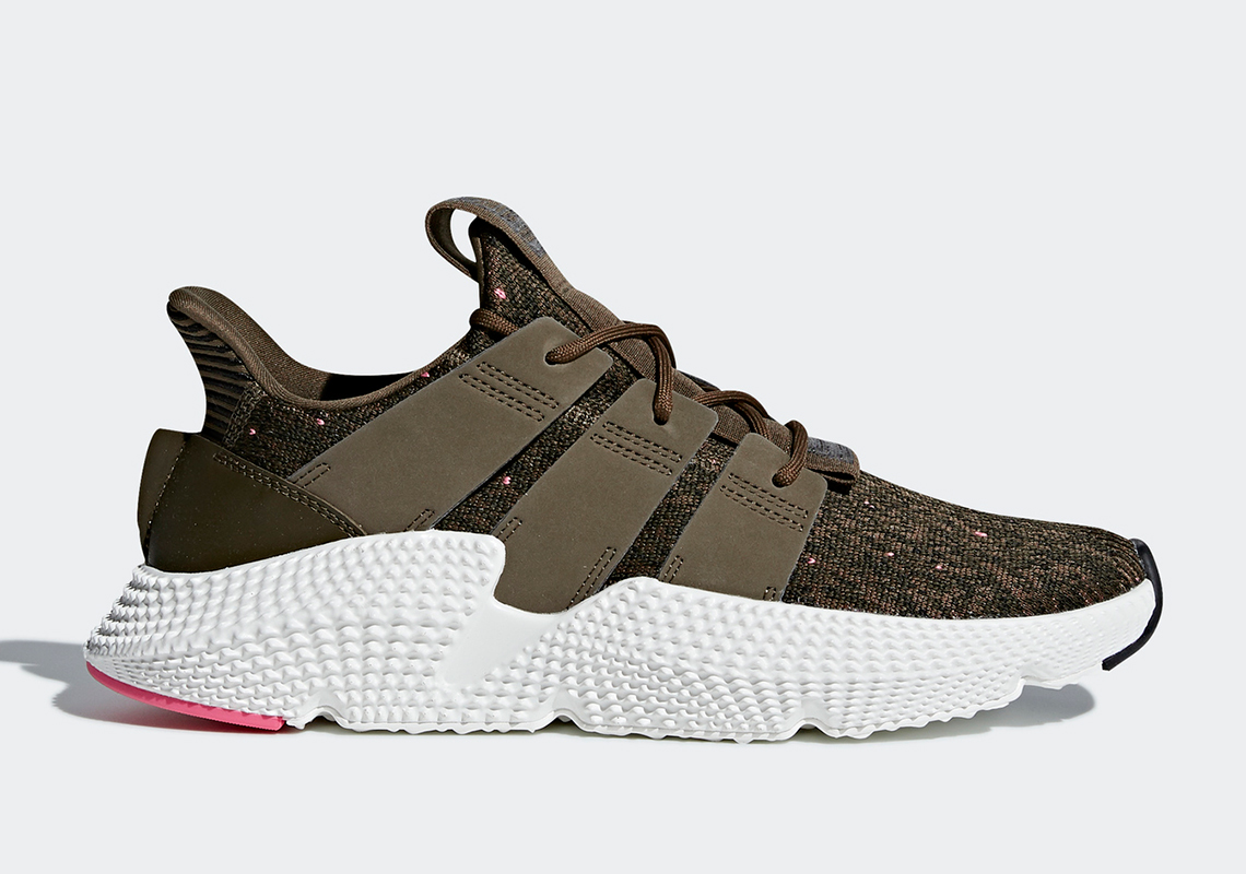Mens Adidas Prophere Running Olive CQ3024