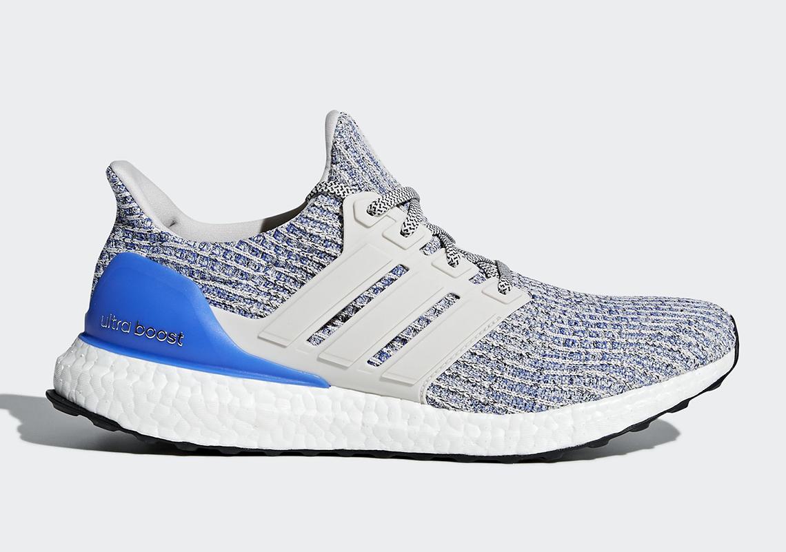 Adidas Ultra Boost 4,0 Hvit Konge