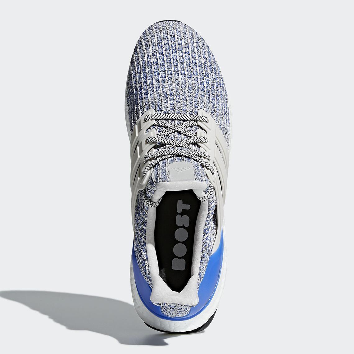 Adidas De Ultra Impulso 4.0 Blanco / Azul Real zWLL1