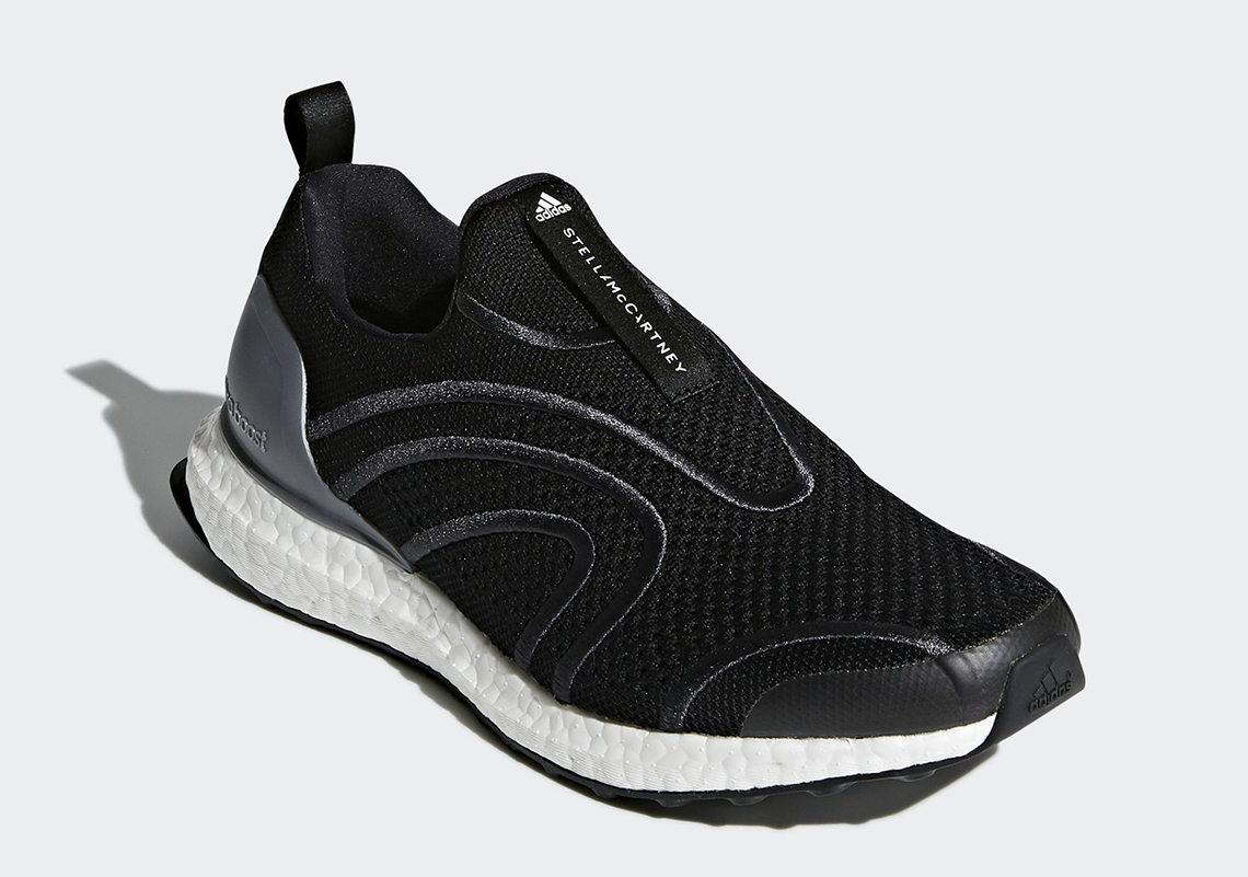 8b59f9ba2 Stella McCartney x adidas Ultra Boost Uncaged AVAILABLE AT adidas  230.  Color  Core Black Style Code  BB6273
