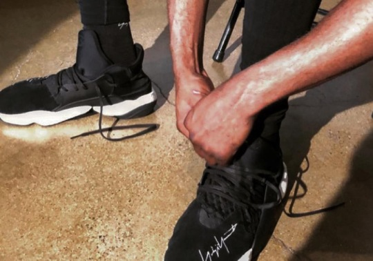 James Harden's Y-3 JH BOOST Sneaker Set To Debut During Paris Fashion Week