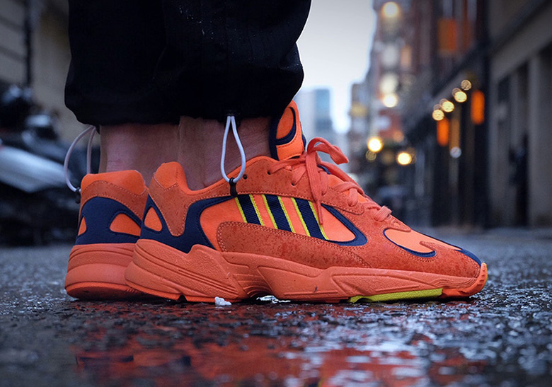 832d55ea486 adidas Yung 1 Orange Navy Yellow