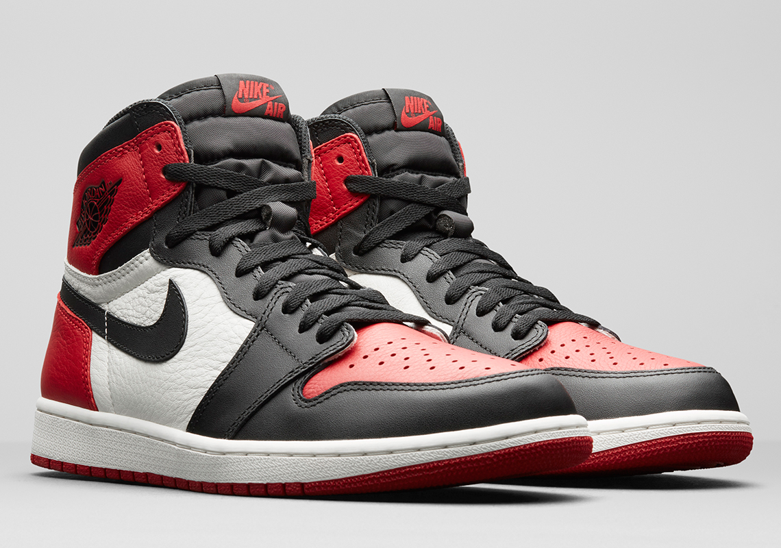 nike air jordan 1 bred toe australia time