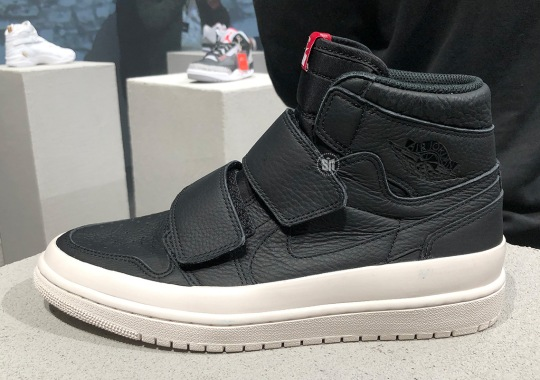 First Look At The Air Jordan 1 Double Strap