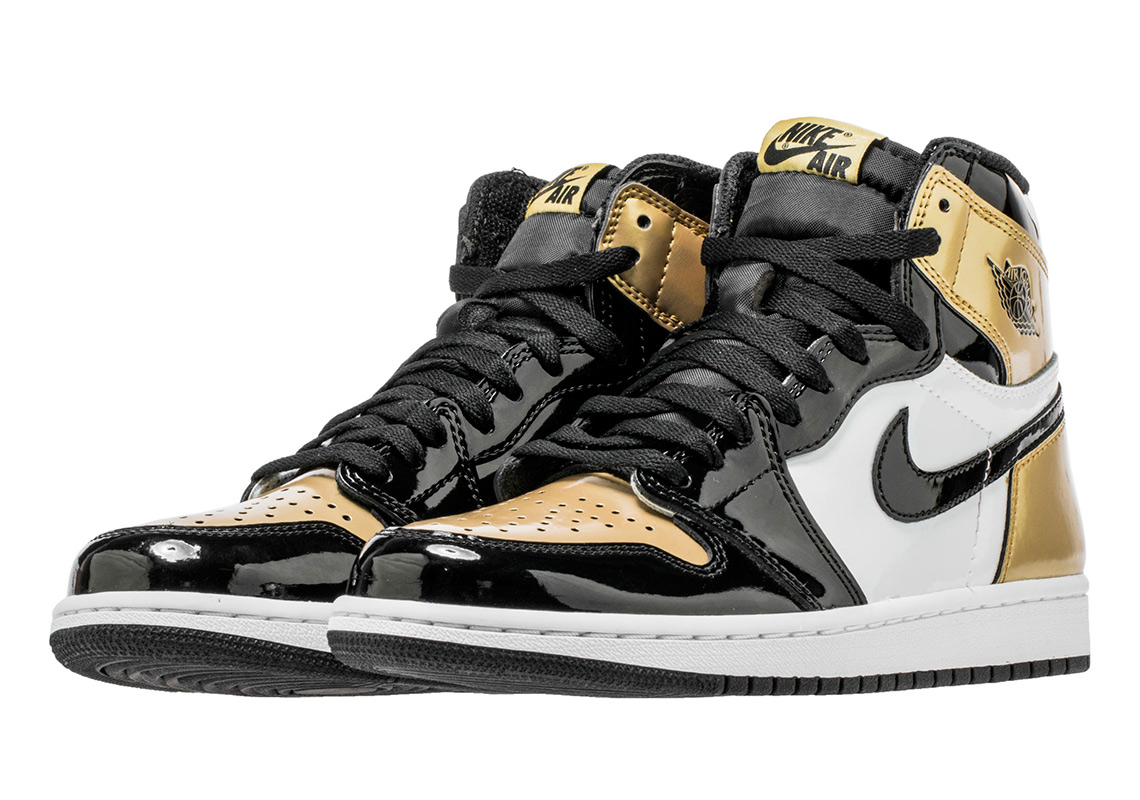 "6e8413aa1f982b Air Jordan 1 ""Gold Toe"" Coming Your Way On All-Star Weekend"