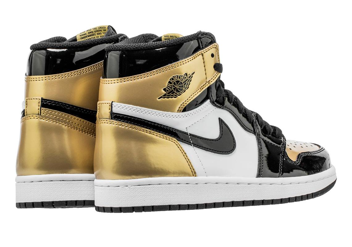 d9eb7bdf5bdf Air Jordan 1 Gold Toe 861428-007 Release Info