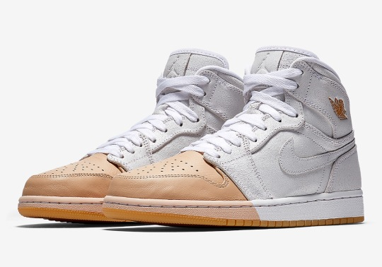 "A ""Tan Dipped"" Air Jordan 1 Is Releasing Exclusively For Women"