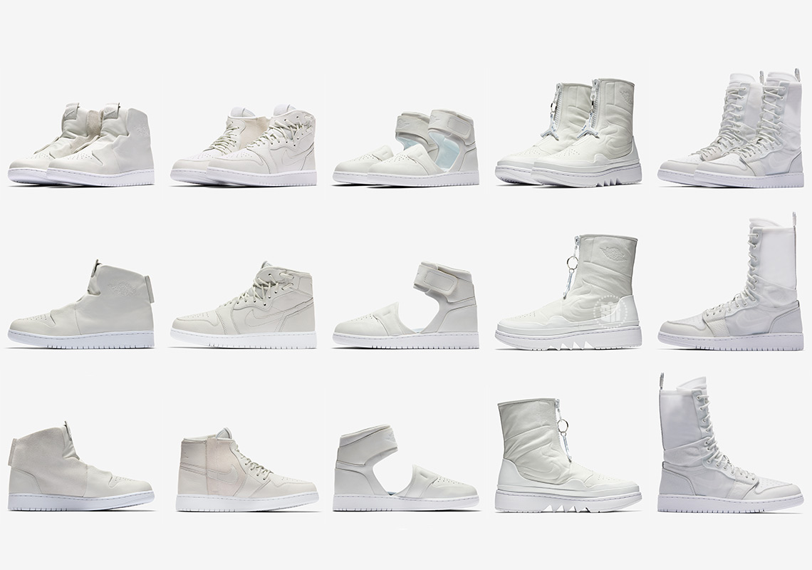 """sports shoes 0919f 58eec The Air Jordan 1 """"Reimagined"""" Collection Releases On February 7th"""