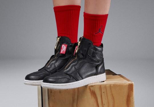 Jordan Brand Reveals The Air Jordan 1 High Zip