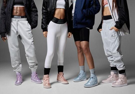"Jordan Brand's Focus On Females Continues With Air Jordan 1 ""Season Of Her"" Pack"
