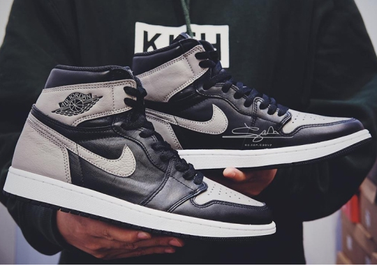 "First Look At The Air Jordan 1 Retro High OG ""Shadow"""