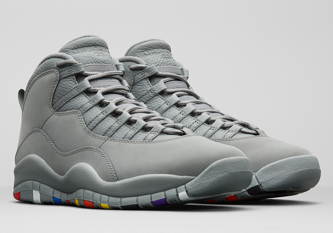 newest 3da04 de4e0 23 Years of Air Jordan 10 Two Colorways Release Info ...