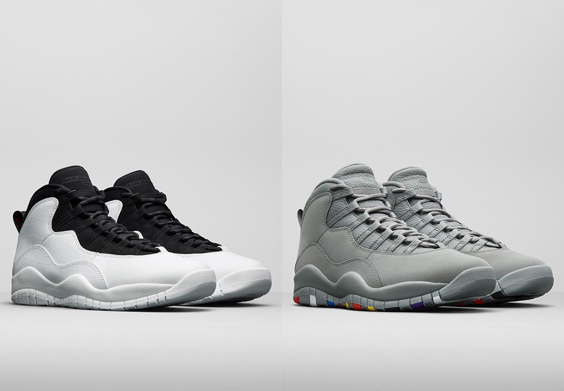 bba74a15279 Jordan Brand Celebrate 23 Years Of The Air Jordan 10 With Two Incredible  Releases. January 16 ...