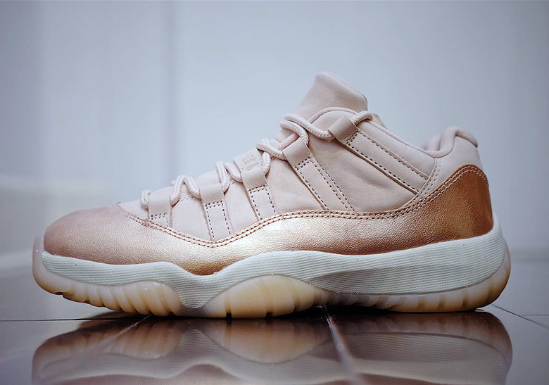 nike air jordan rose gold