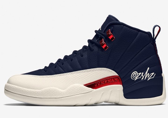 "Air Jordan 12 ""College Navy"" Releasing In August"