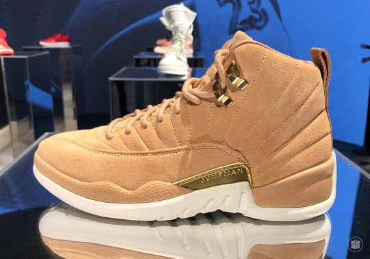 "Air Jordan 12 ""Vachetta Tan"" Closer Look"