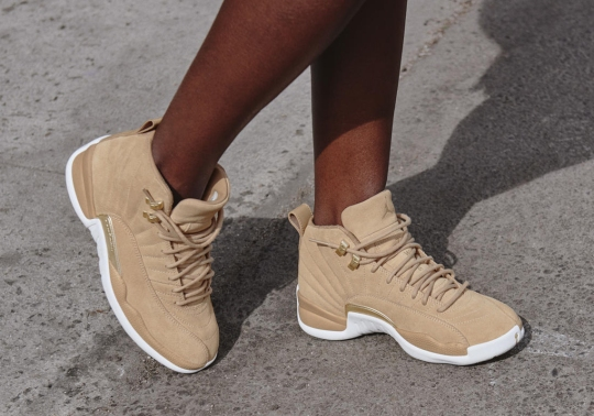 Air Jordan 12 Vachetta Tan Releases In March As Part Of The Spring 2018 Women's Collection