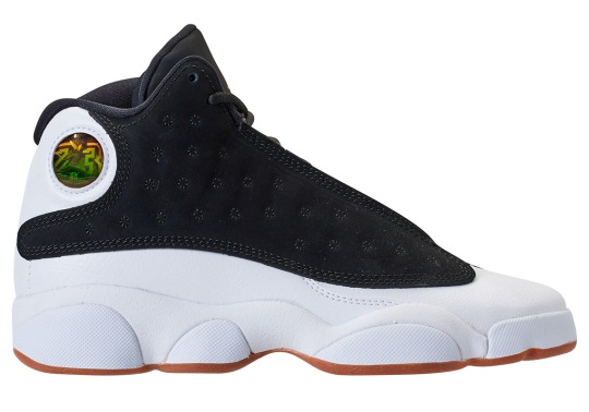 This Air Jordan 13 Retro For Kids Features Gum Soles
