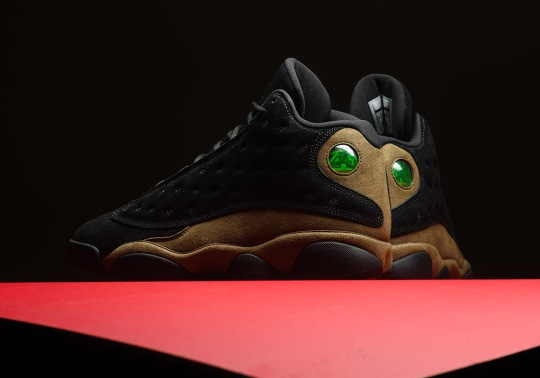 "Jordan Brand Adds The Original ""Olive"" To The Air Jordan 13"