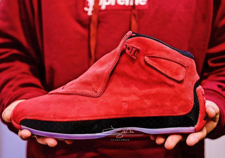 67ee657126d1b8 Detailed Look Air Jordan 18