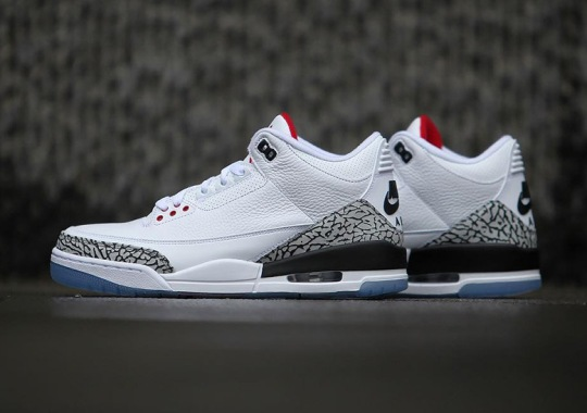 """A Detailed Look At The Air Jordan 3 """"Dunk Contest"""""""