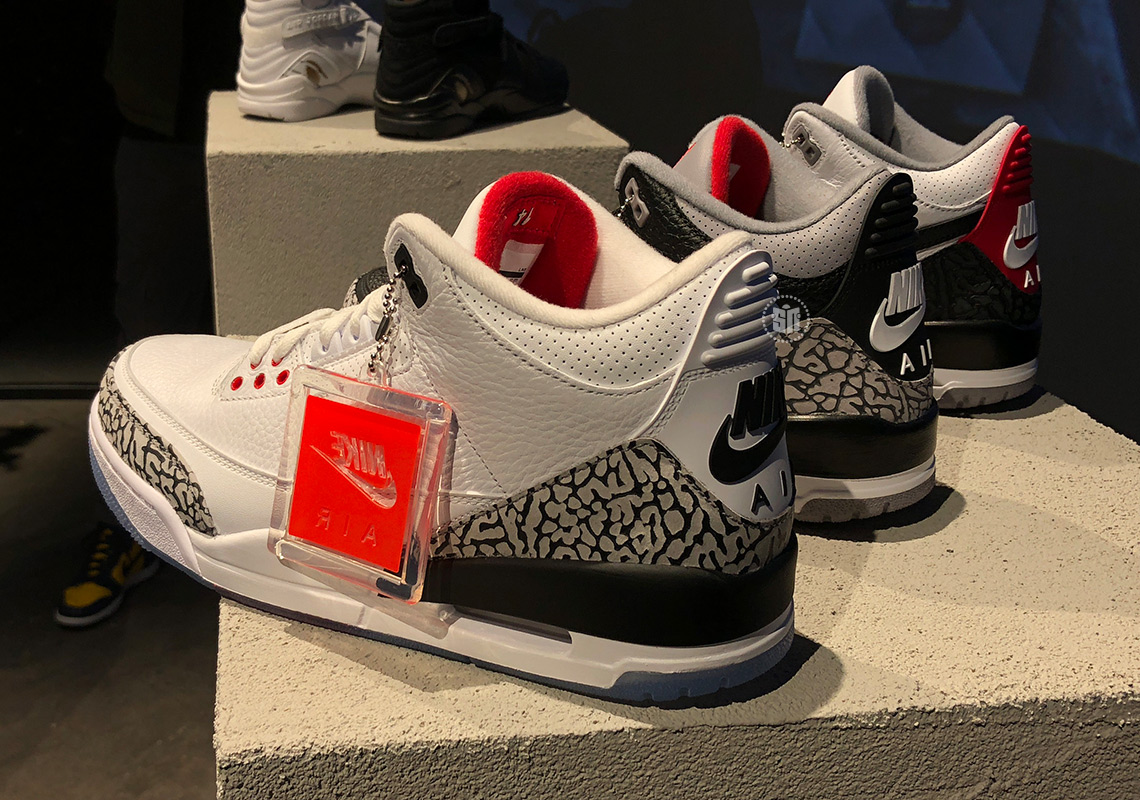 e91759f09e57f1 Air Jordan 3 - Black Cement + Dunk Contest + Tinker Hatfield Info ...