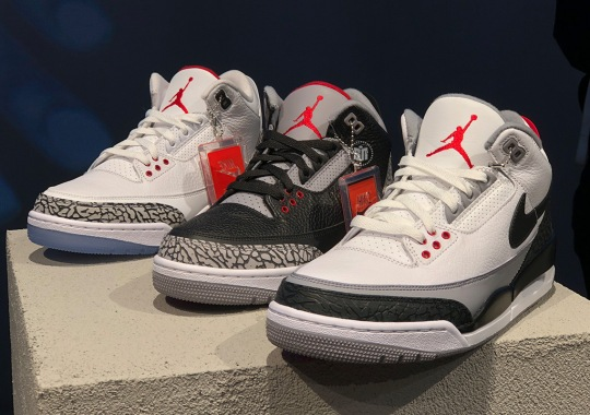 Jordan Brand Remembers The Roots Of The Air Jordan 3 With Three Epic Releases