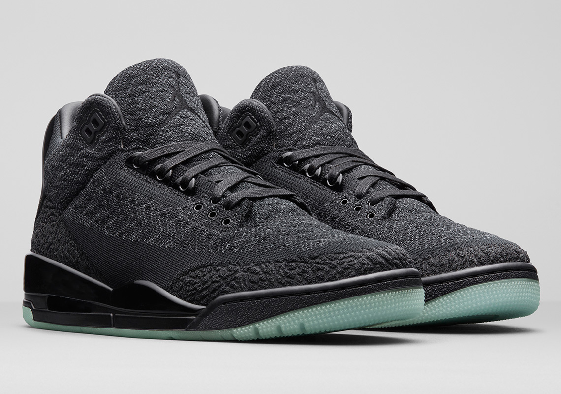 "1e4cffc8c9d Air Jordan 3 ""Black/Cement"" Release Date: February 17th, 2018 $200. Style  Code: 854262-001. Advertisement. Air Jordan 3 Flyknit Release Date: ..."