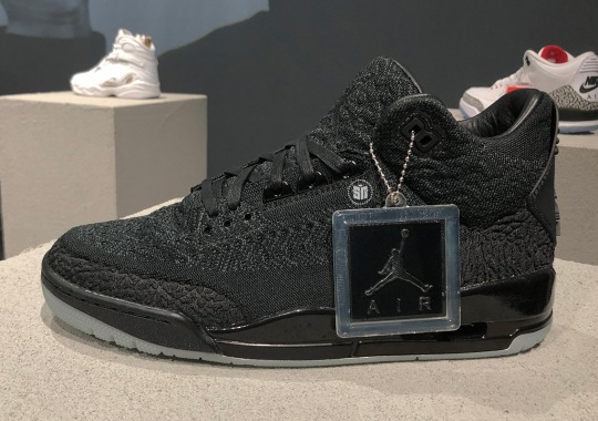 First Look At The Air Jordan 3 Flyknit