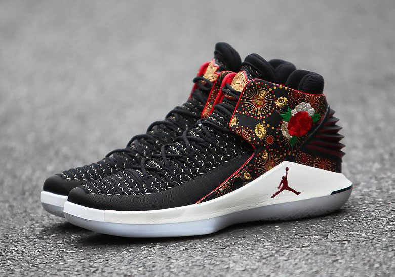 air jordan 32 release date february 3rd 2018 200 color blackuniversity redwhite metallic gold - Jordan Chinese New Year