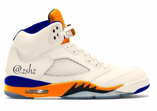 Knicks Colors Are Coming To The Air Jordan 5