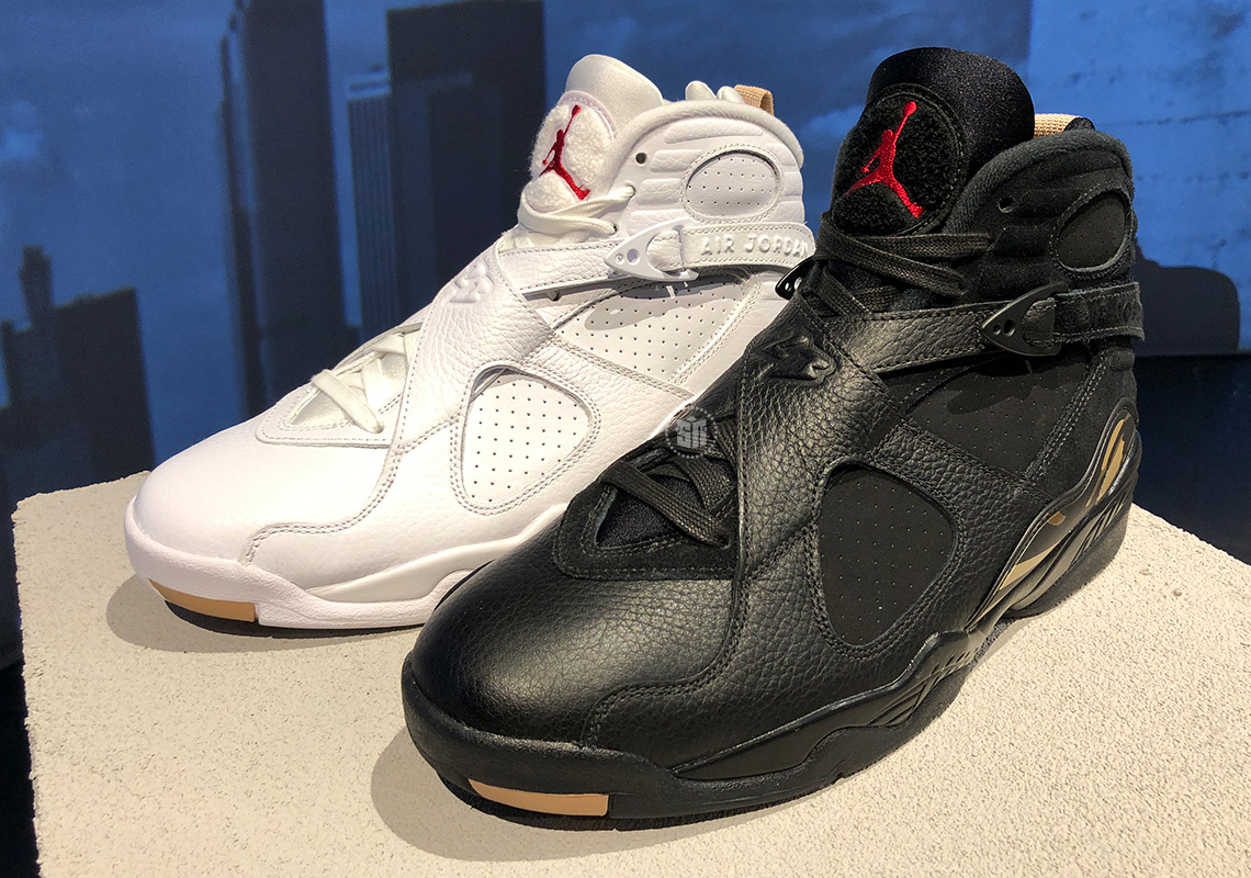huge discount 58657 eab33 Drake x OVO x Air Jordan 8 NBA All-Star Weekend Release Info ...