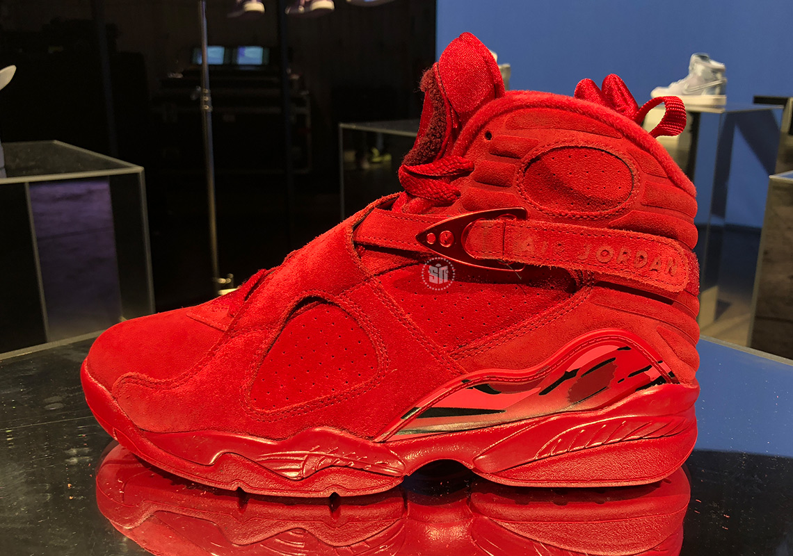 Air Jordan 8 Valentines Day WMNS AQ2449 614 Release Info