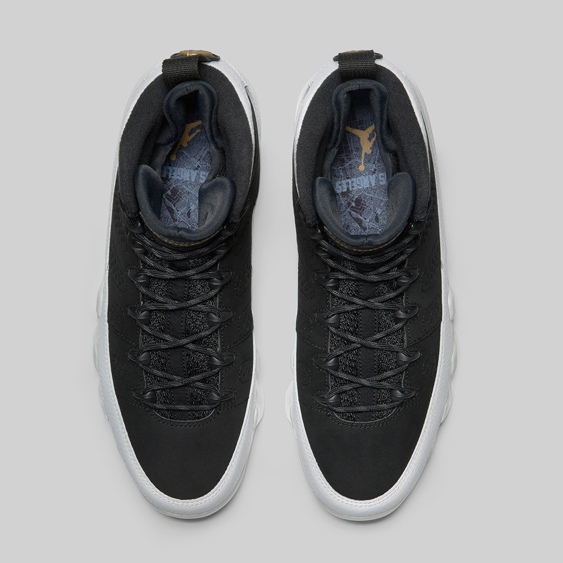 check out 40723 0363e ... white gold blacknew release jordans 2f2c0 73719  official air jordan 9  la all star release date february 10th 2018 190. color black