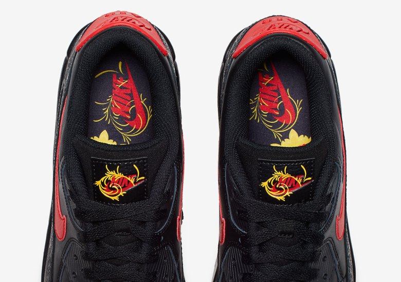 online store 33842 fdac4 Nike Celebrates Chinese New Year With The Air Max 90