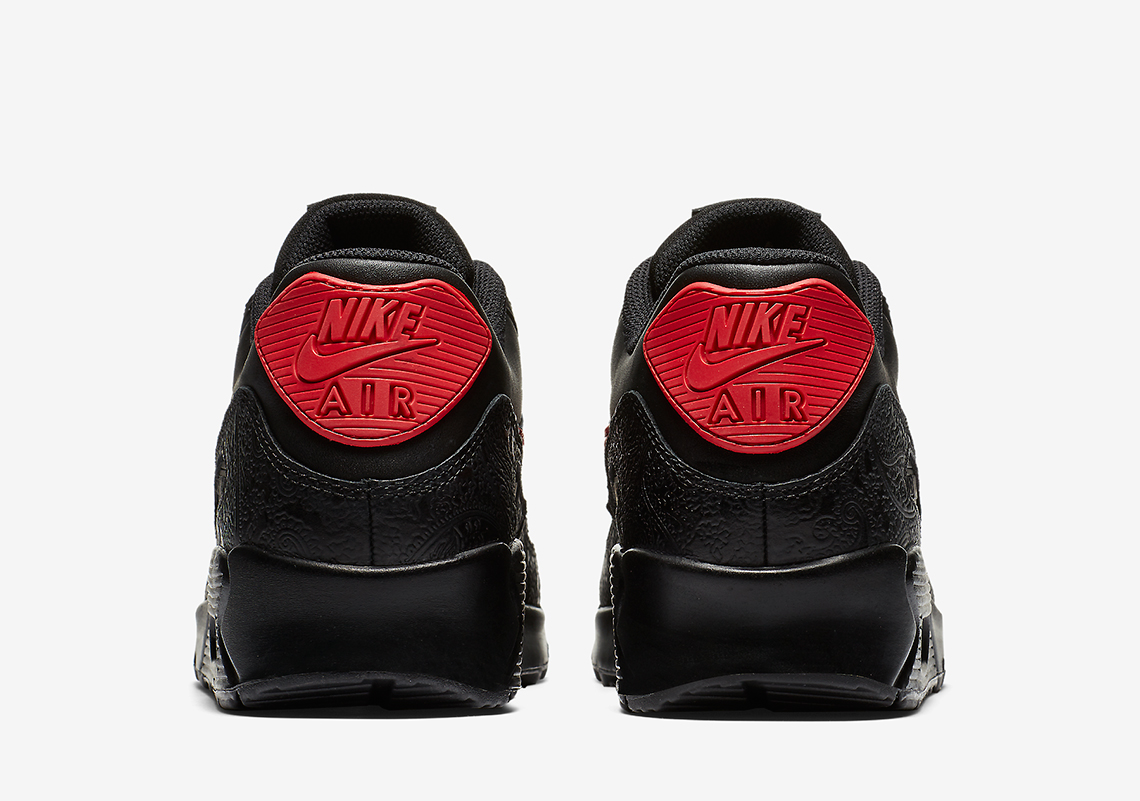 05197b9c62 Nike Air Max 90. Color: BLACK/UNIVERSITY RED-UNIVERSITY RED Style Code:  AO3152-001. Advertisement. Advertisement