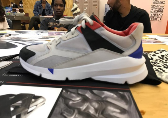 A$AP Rocky Spotted With Never Before Seen Under Armour Shoe