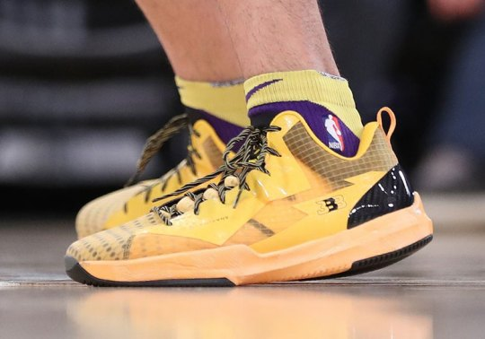 Lonzo Ball Debuts New Big Baller Brand ZO2 Prime In Yellow