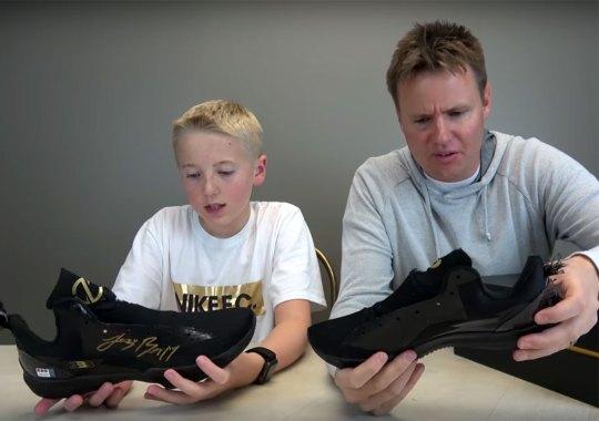 "Lonzo Ball's Big Baller Brand ZO2 Shoe Cut In Half By ""What's Inside"" YouTubers"