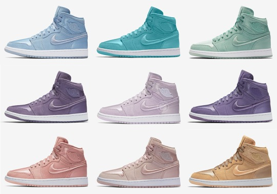 "See All Ten Air Jordan 1 ""Season Of Her"" Colorways Releasing Next Thursday"