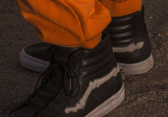 "Blends And Vans Bring Back The Sk8-Hi ""Bones"" In Pony Hair"
