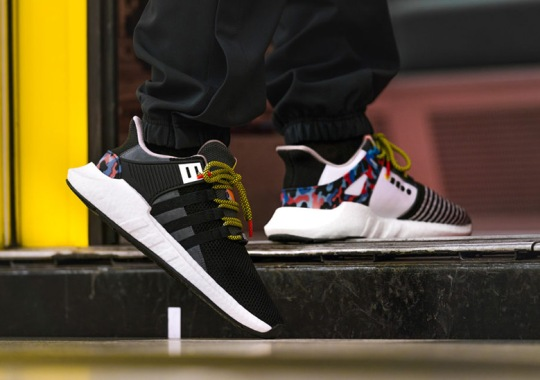 adidas Creates A Special EQT Support 93/17 Boost Inspired By The Berlin Verkehrsbetriebe